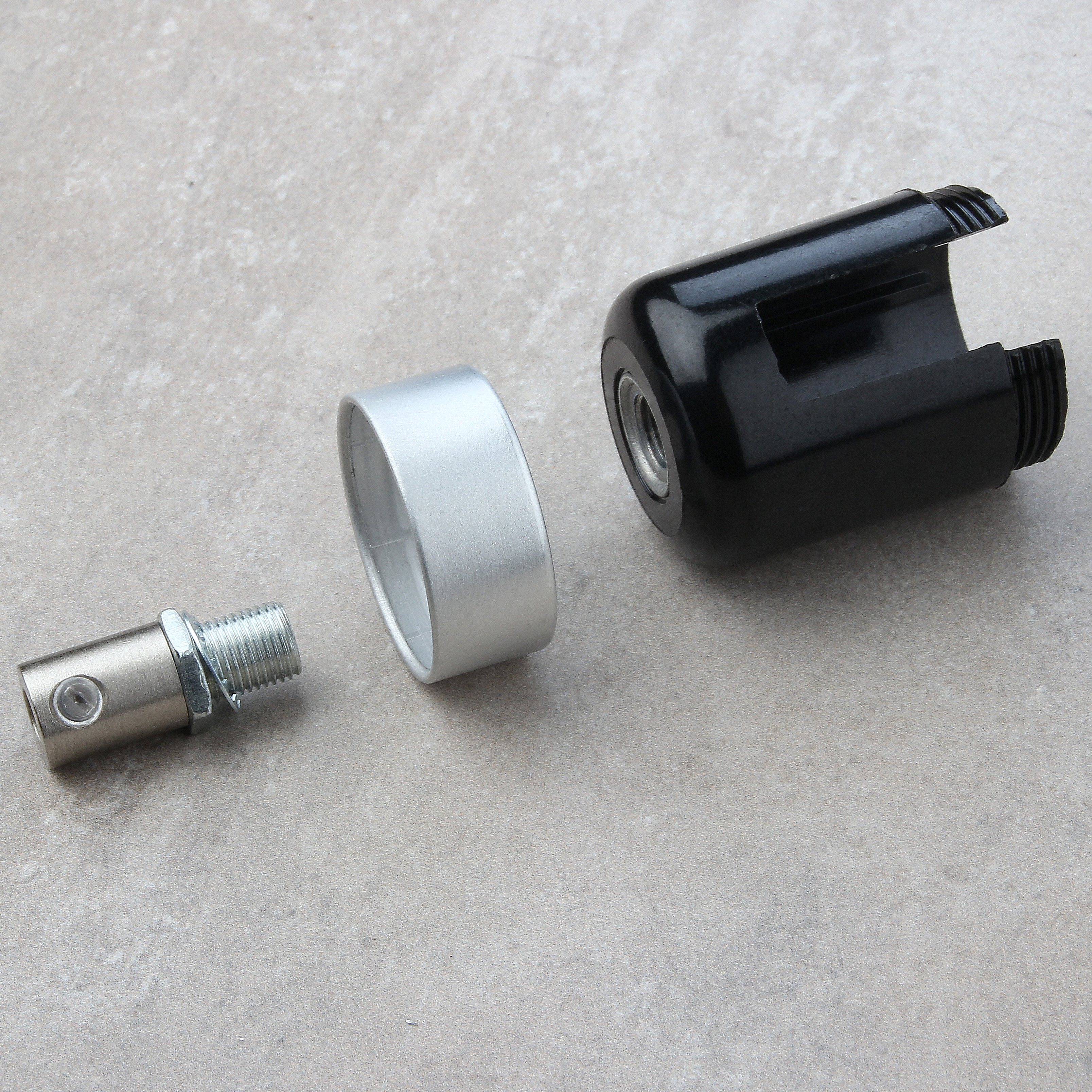 flaschenlampe textilkabel selber bauen 5 leuchtenbau. Black Bedroom Furniture Sets. Home Design Ideas